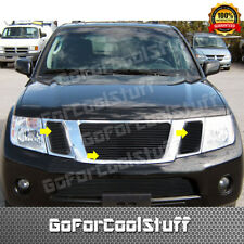 For Nissan Pathfinder 2008 2009 2010 2011 2012 Black Upper Billet Grille Insert