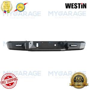 Westin For 16-18 Silverado 1500 HDX Full Width Black Rear HD Bumper 58-251605
