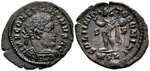 CONSTANTINE I (315 AD) Extremely Rare Follis. London #MC 8097