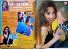 PAULINE ESTER => Coupure de presse 2 pages 1990