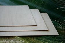 Birkensperrholz 3mm 30x21cm Furnierplatte Laubsägearbeiten Modellbau basteln