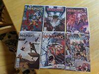 All-New Inhumans 1 - 11 -  complete Marvel Series
