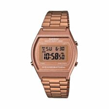 Casio Collection B640WC-5AEF Reloj Digital Unisex Acero Inoxidable Marrón