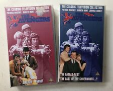 2 VHS tapes THE NEW AVENGERS cult classic