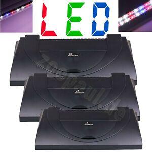 Aquarium Abdeckung LED Power Color Beleuchtung Lampe Deckel Haube Terrarium