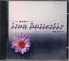 IRON BUTTERFLY (The Best Of Iron Butterfly Light and Heavy) Envio 1-4 Cd´s 4euro