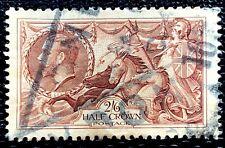 1913 Great Britain Stamp Sc #173 2sh6p King George Used Cv:$160