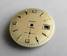 Piece Watchmaking Watch Dial Curved Grey/Golden Diameter 1 3/16in Cal. VC.233