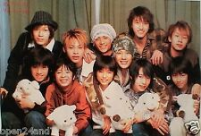 "KAT-TUN & YA YA YAH ""2 GROUPS TOGETHER"" ASIAN POSTER - Japanese J-Pop Music"