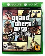 Grand Theft Auto: San Andreas (Xbox One / Xbox 360) Brand New Factory Sealed Gta