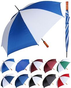 "48"" Arc, Auto-Open Rain Sport Umbrella - RainStoppers Rain/Sun UV Travel"