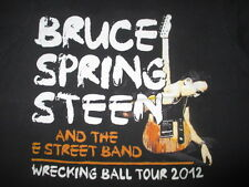 2012 BRUCE SPRINGSTEEN Wrecking Ball Concert Tour (MED) T-Shirt #1