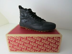 Vans Men's New SK8-Hi MTE 2.0 DX Water Repellent Shoes Woodland Camo Black uk6.5