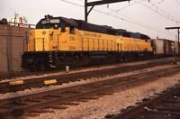 CSS SOUTH SHORE LINE Railroad Train GARY IN Original 1983 Photo Slide