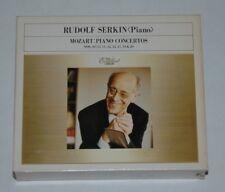 4 CD BOX/MOZART PIANO CONCERTOS 10,27,11,12,14,../SERKIN/CBS OODC 997-1000 JAPAN