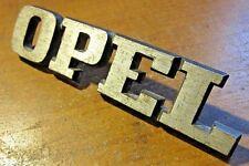 "OPEL  MANTA  1900 ASCONA REAR ""OPEL""  EMBLEM NEW OLD STOCK"