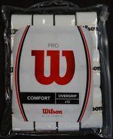 NEW Wilson Pro Overgrip 12-Pack Tennis With Waterproof Storage Bag