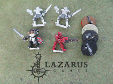 HHG  Heartbreaker Hobbies & Games Warzone mixed lot of Troop (4 painted metal)