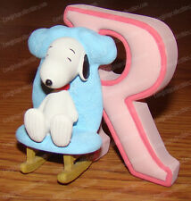Letter R (Peanuts Alphabet by Wesland, 8588) Snoopy Rocking Chair
