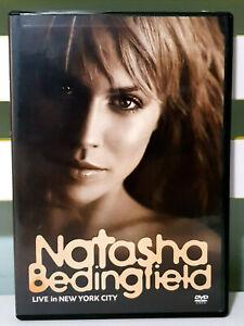 Natasha Bedingfield: Live in New York City DVD, 2006, Region 0