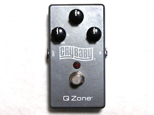 Used MXR QZ1 Cry Baby Q-Zone Cocked Wah Guitar Effects Pedal