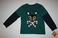 NEW Gymboree Reindeer Candy Cane Tee Top Shirt Size 2T NWT North Pole Party Boys