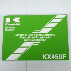 Manuel du propriétaire utilisateur origine Motorrad Kawasaki 450 KXF 99976-1670/