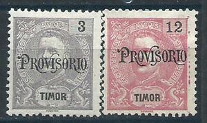 Timor Courrier Yvert 99/100 ( ) Mng