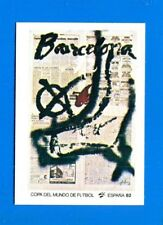 SPAGNA ESPANA '82 -Panini-Figurina-Sticker n. 6 - MANIFESTO BARCELONA -Rec
