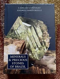 Minerals & Precious Stones of Brazil Book, Hardcover, 2010, New!