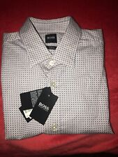 Hugo Boss Ronni Long Sleeve Slim Fit  Stretch Shirt M