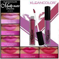 36 PCs Full set 6 PCS X 6  Kleancolor Madly MATTE Lip gloss 1812 NO DISPLAY