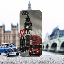 I Love London Big Ben Bus England Phone Case Cover Fits iPhone and Samsung model