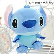1PC 25CM DISNEY LILO STITCH CHARACTER SOFT BEAR PLUSH DOLL KID CHILD STUFFED TOY
