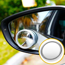 Rearview Mirror Adjustable 360°Wide Angle Convex Car Blind Spot Round Stick Side