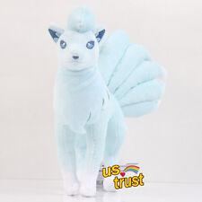 Pokemon Sun Moon Alola Ninetales Nine Tails Fox Stuffed Soft Plush Doll 10inch