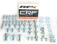 RFX HONDA CR85 CR125 CR250 98-07 CRF TRACK PACK OEM TYPE BOLT & FASTENERS KIT