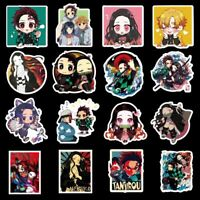 Anime Demon Slayer Graffiti Sticker Skateboard Laptop Luggage Fridge Decals