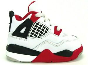 Jordan 4 Retro Fire Red Nike 2020 release BQ7670-160 Toddler Size 4C