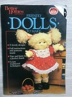 VINTAGE Better Homes And Gardens Friendly Dolls To Make Craft - FREE POST Book