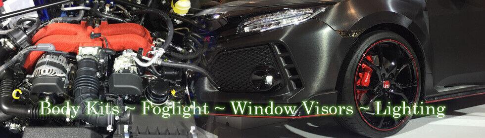 Racingbees 2014-2017 Lexus IS250 IS350 Window Visor 4 Pcs 2015 2016