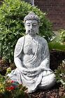 Sculpture en Pierre Grand Bouddha Shiva Résistant au Gel Décoration de Jardin