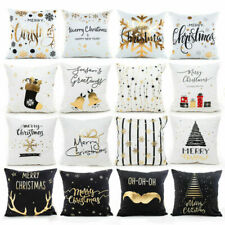 Xmas Pillow Case Merry Christmas Decoration For Home New Year Gift Ornaments