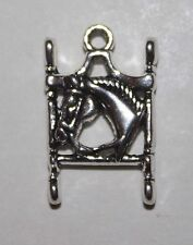 Horsehead Charm or Pendant Western or Saddleseat Curb Bit w/ Beautiful Horsehead