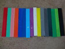 "Rod Building Wrapping Colored Foam Blocks Custom Handles 17"" long 2"" Square"