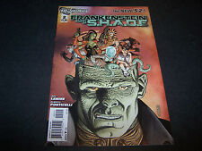 DC NEW 52 FRANKENSTEIN AGENT OF SHADE #2 1ST PRINTING S.H.A.D.E. W:JEFF LEMIRE