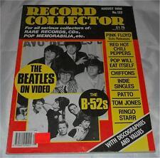 Record Collector Magazine August 1990 - Beatles Ringo