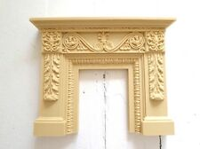 DOLLHOUSE MINIATURE FIREPLACE MANTLE * PAINTABLE & STAINABLE!!