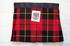 Baby Scottish Kilt Wallace Tartan Plaid 4-12 M Christening Christmas Outfit