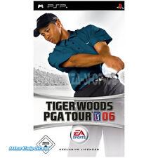 Psp tiger woods pga tour 06-NEUF + OVP